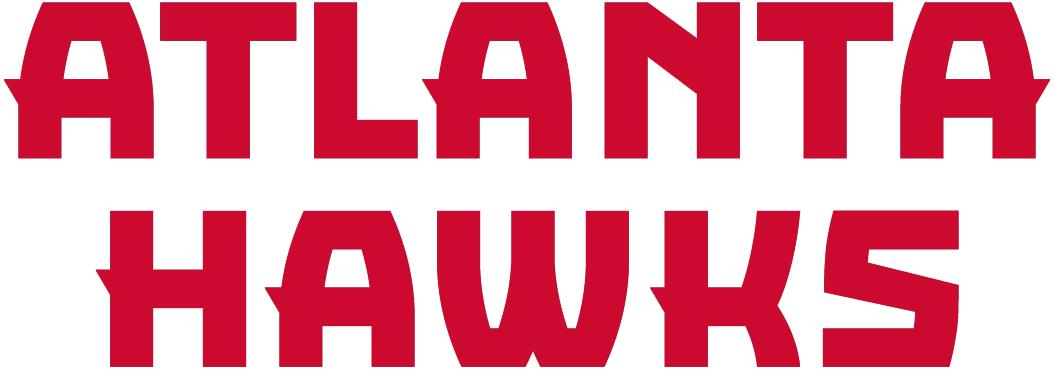 Atlanta Hawks Logo Wordmark Logo (2015/16-2019/20) -  SportsLogos.Net