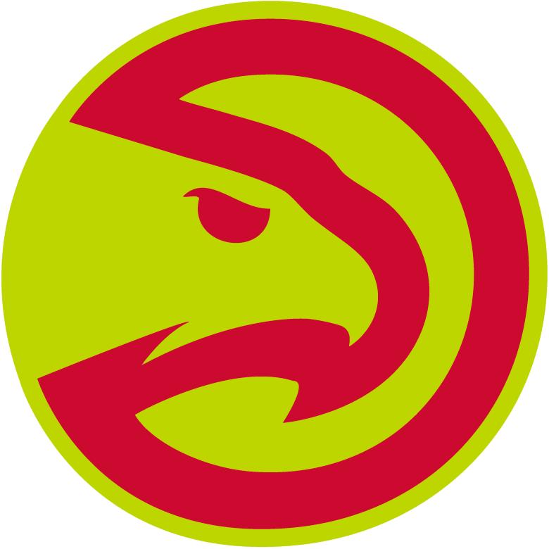 Atlanta Hawks Logo Alternate Logo (2015/16-2019/20) - Worn on side of Hawks' black shorts SportsLogos.Net