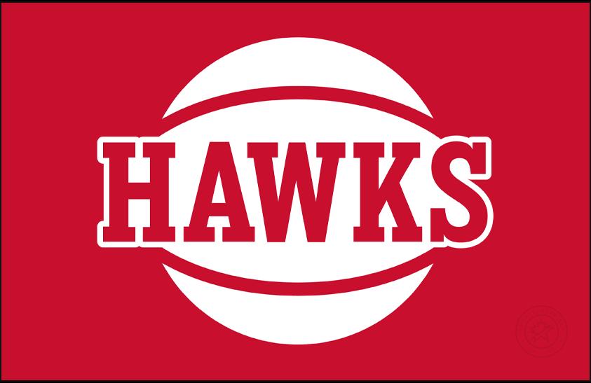 Atlanta Hawks Logo Alternate Logo (2020/21-Pres) - For the 2020-21 NBA season, the Atlanta Hawks introduced this alternate (officially