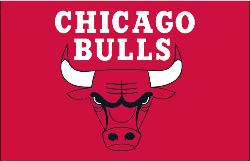 Chicago Bulls Primary Dark Logo National Basketball Association