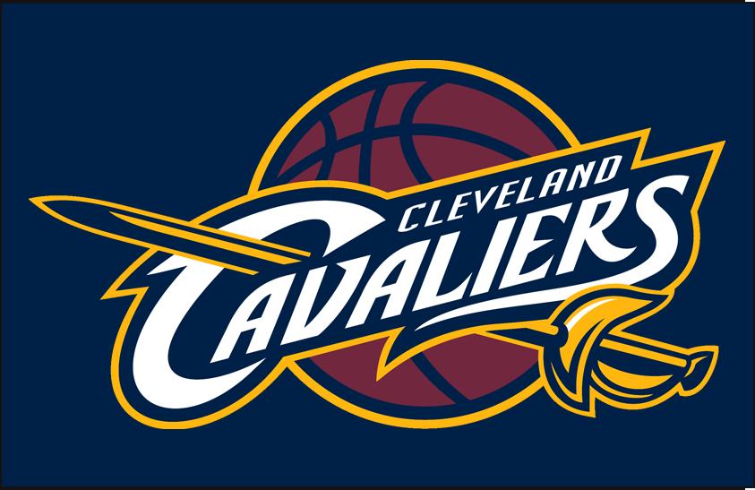 Cleveland Cavaliers Logo Primary Dark Logo (2010/11-2016/17) - Primary on Navy Blue SportsLogos.Net