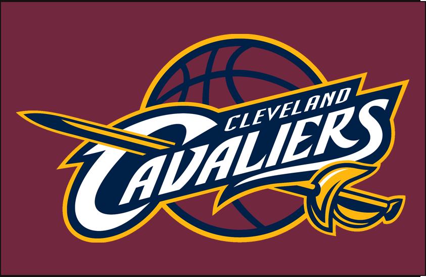 Cleveland Cavaliers Logo Primary Dark Logo (2010/11-2016/17) - Primary on Wine SportsLogos.Net