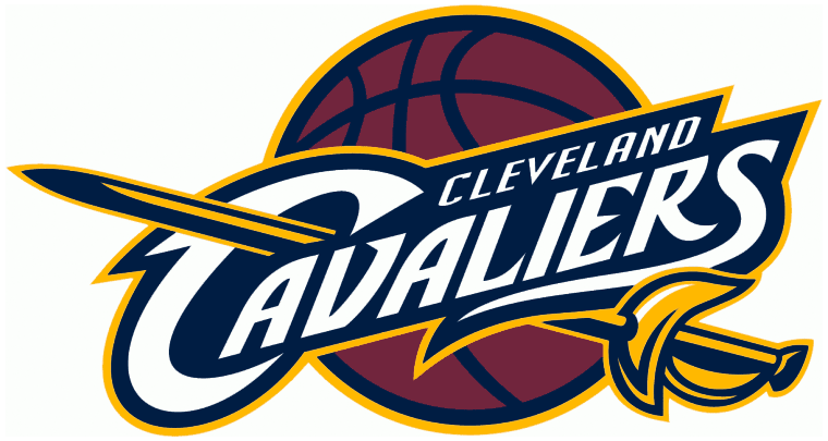 Cleveland Cavaliers Logo Primary Logo (2010/11-2016/17) - Previous Cavs logo with darkened colours and brighter yellow SportsLogos.Net