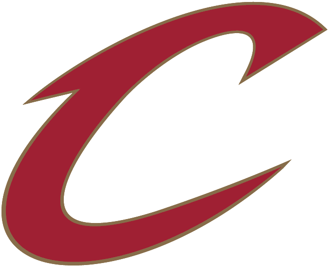 Cleveland Cavaliers Logo Alternate Logo (2003/04-2009/10) - A red C outlined in gold SportsLogos.Net