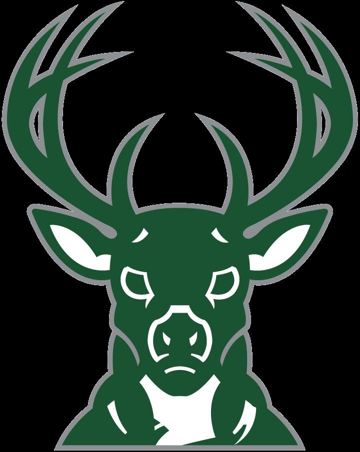 Milwaukee Bucks Logo Alternate Logo (2006/07-2014/15) - A green buck head SportsLogos.Net