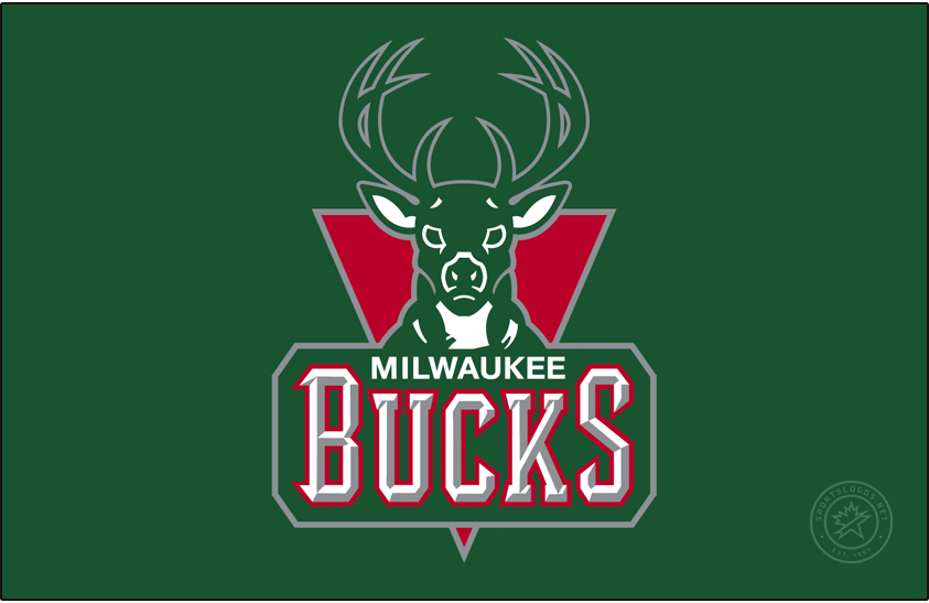 Milwaukee Bucks Logo Primary Dark Logo (2006/07-2014/15) -  SportsLogos.Net