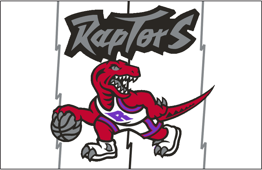 Toronto Raptors Logo Jersey Logo (1995/96-1998/99) -  SportsLogos.Net
