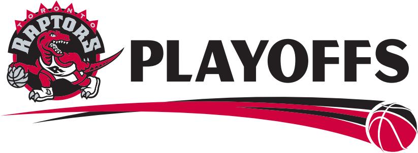 Toronto Raptors Logo Event Logo (2013/14-2014/15) - Toronto Raptors 2014 and 2015 NBA Playoffs Logo SportsLogos.Net