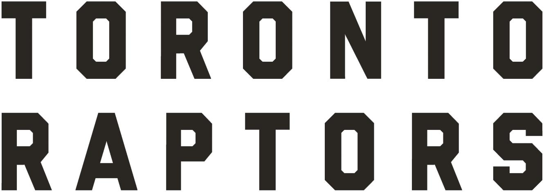 Toronto Raptors Logo Wordmark Logo (2015/16-Pres) -  SportsLogos.Net