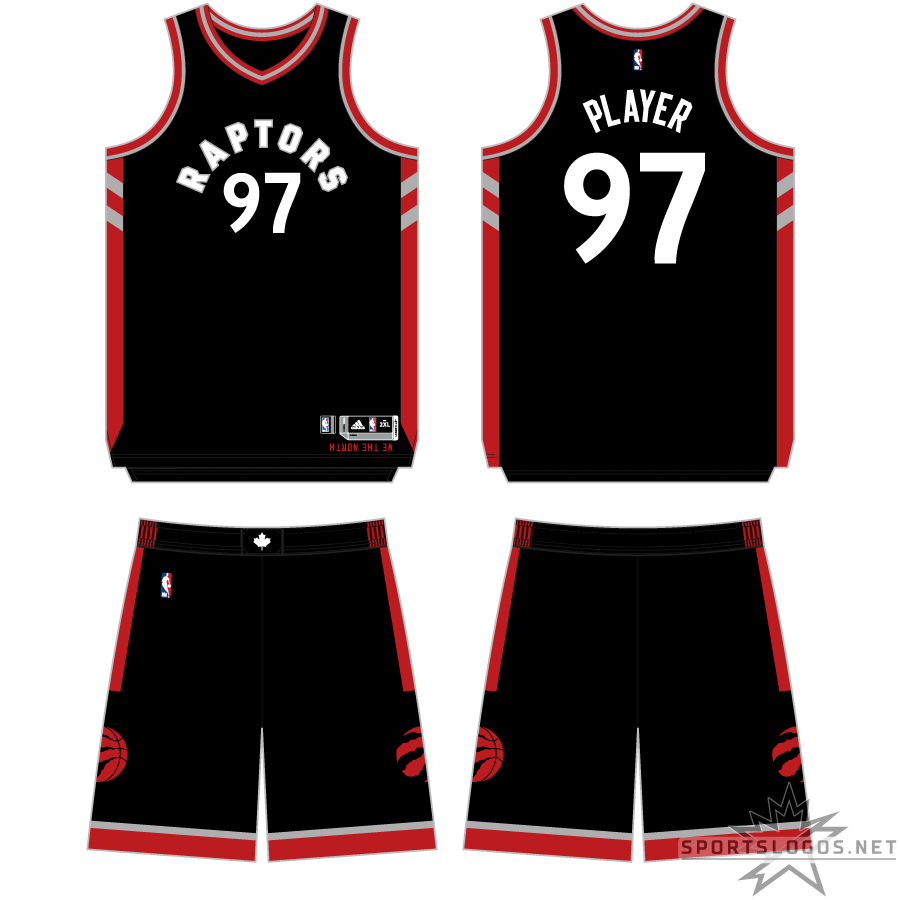 Toronto Raptors Uniform Alternate Uniform (2015/16-2016/17) -  SportsLogos.Net