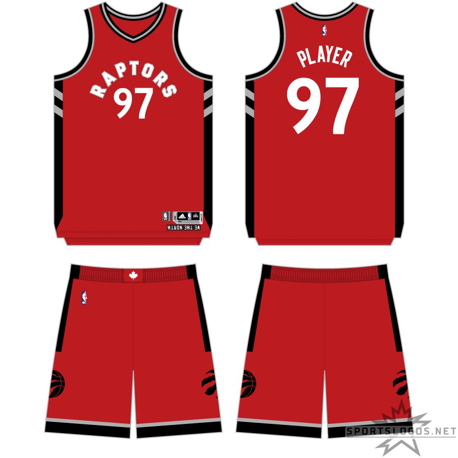 Toronto Raptors Uniform Primary Dark Uniform (2015/16-2016/17) -  SportsLogos.Net
