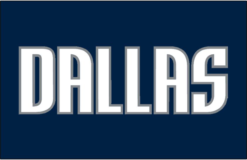 Dallas Mavericks Logo Jersey Logo (2001/02-2009/10) - Worn on Dallas Mavericks road jersey from 2001-02 until 2009-10 SportsLogos.Net