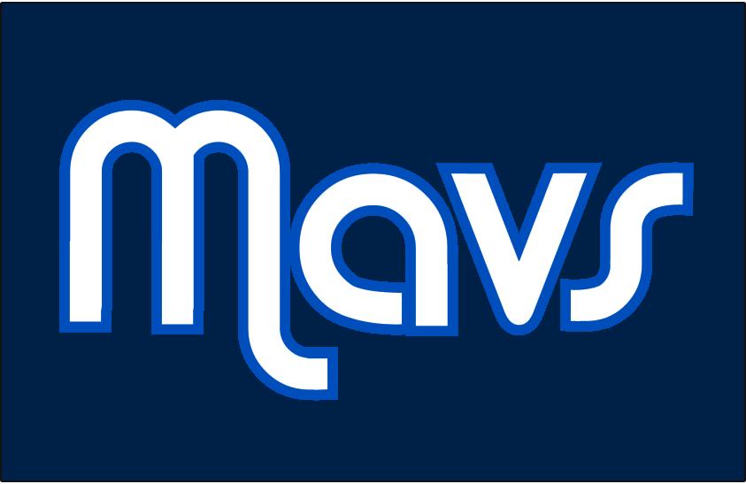 Dallas Mavericks Logo Jersey Logo (2011/12-Pres) - Worn on Dallas Mavericks alternate jersey starting in 2011-12 SportsLogos.Net