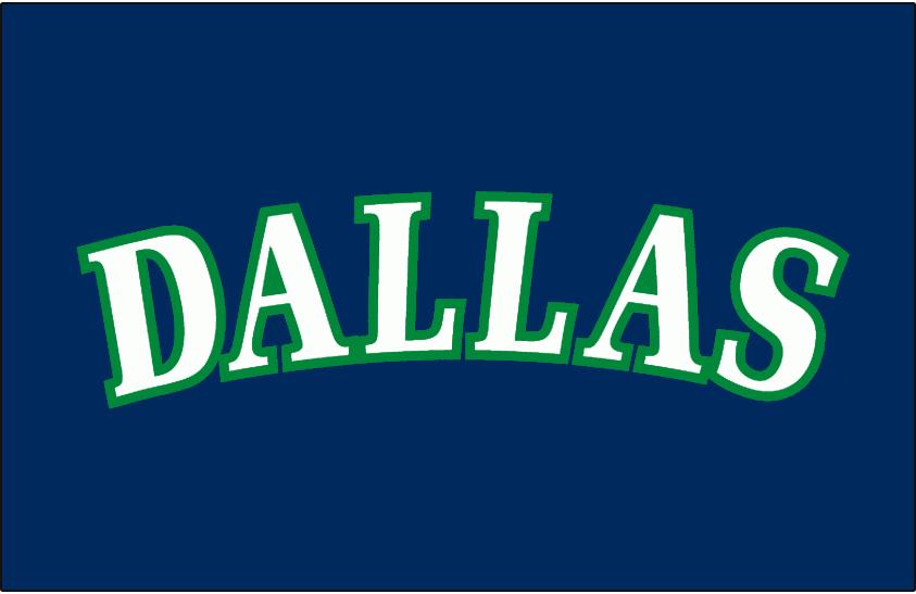 Dallas Mavericks Logo Jersey Logo (1993/94-2000/01) - Worn on Dallas Mavericks road jersey from 1993-94 until 2000-01 SportsLogos.Net