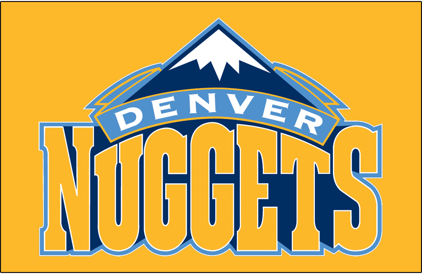 Denver Nuggets Logo Primary Dark Logo (2008/09-2017/18) -  SportsLogos.Net