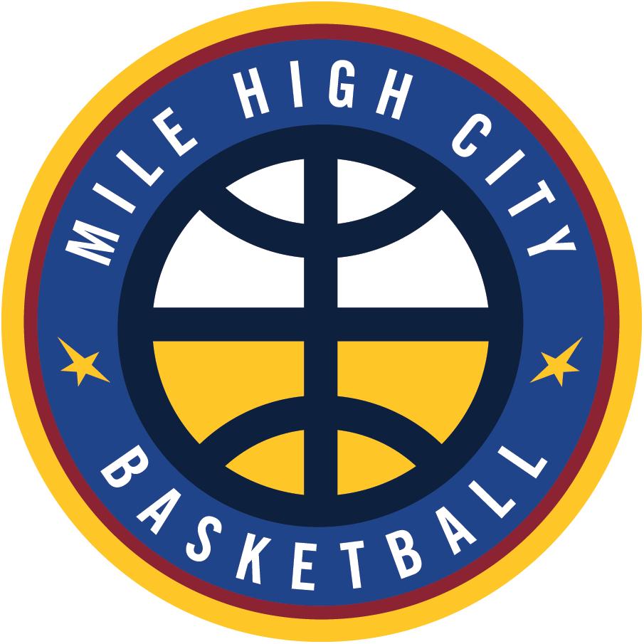 Denver Nuggets Logo Alternate Logo (2018/19-Pres) - Denver Nuggets Mile High City Basketball logo SportsLogos.Net