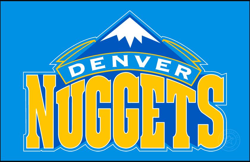 Denver Nuggets Logo Primary Dark Logo (2003/04-2007/08) -  SportsLogos.Net