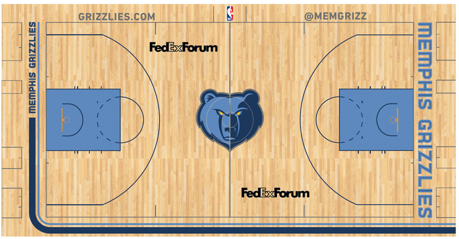 Memphis Grizzlies Playing Surface - National Basketball