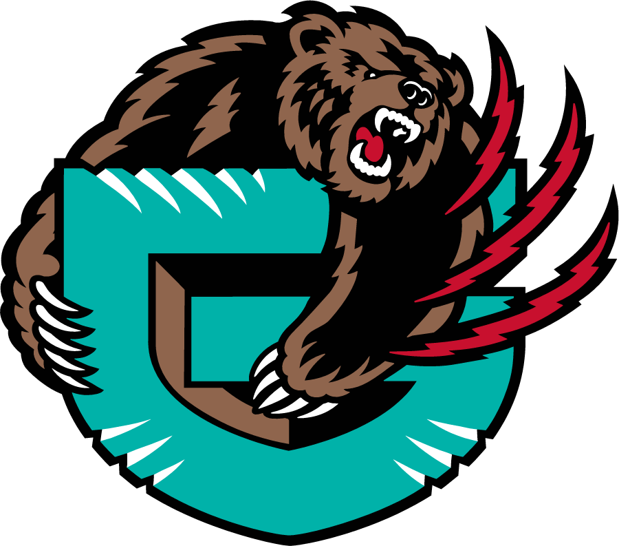 Memphis Grizzlies Logo Alternate Logo (2001/02) -  SportsLogos.Net