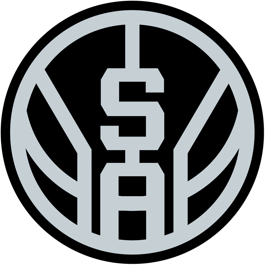 San Antonio Spurs Logo Alternate Logo (2017/18-Pres) -  SportsLogos.Net