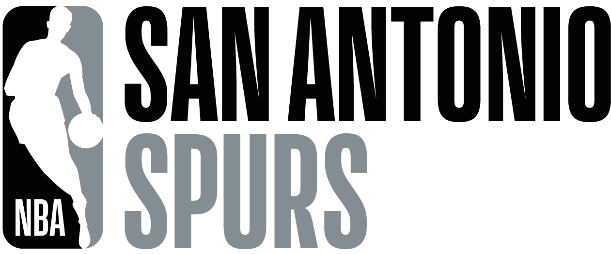 San Antonio Spurs Logo Misc Logo (2017/18) - Note: This is not a legitimate team logo, it was originally created by this site for an April Fool's Day joke using the NBA's standardized logo system in 2018 SportsLogos.Net