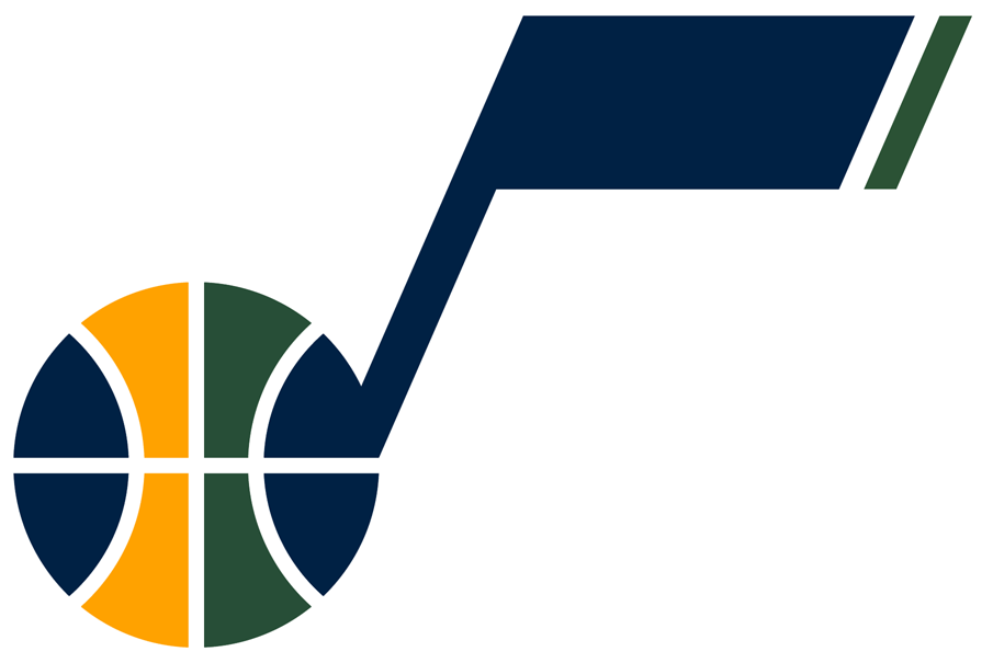 Utah Jazz Alternate Logo National Basketball Association