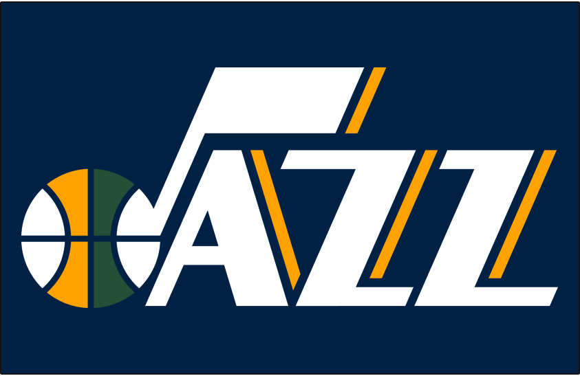 Utah Jazz Logo Jersey Logo (2010/11-Pres) - Road Jersey Wordmark SportsLogos.Net