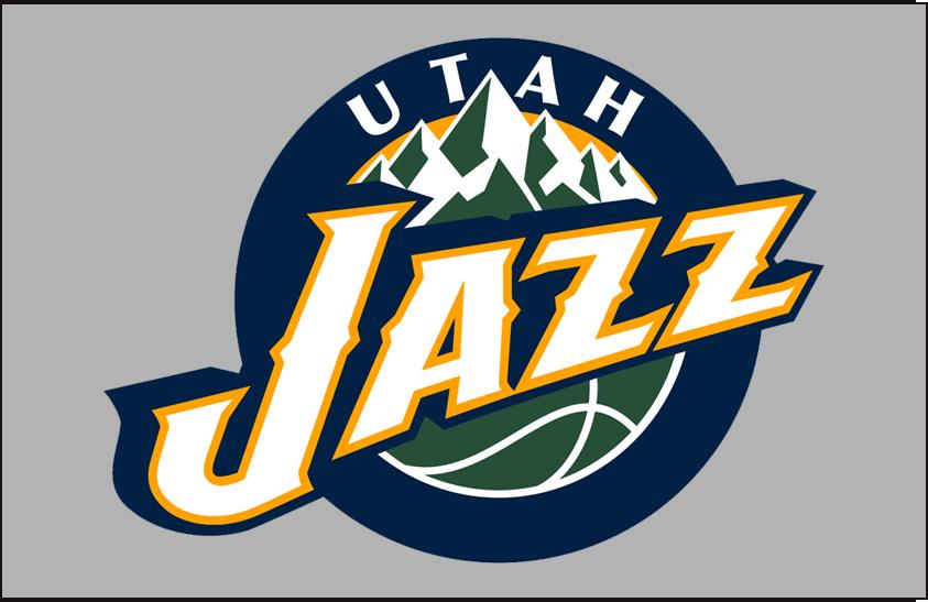 Utah Jazz Logo Primary Dark Logo (2010/11-2015/16) - Primary on Grey SportsLogos.Net