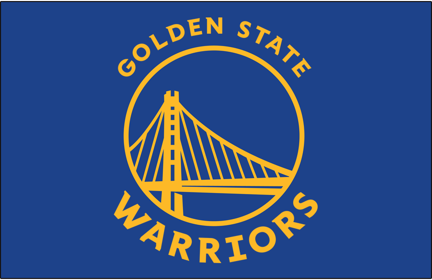 Golden State Warriors Primary Dark Logo - National ...
