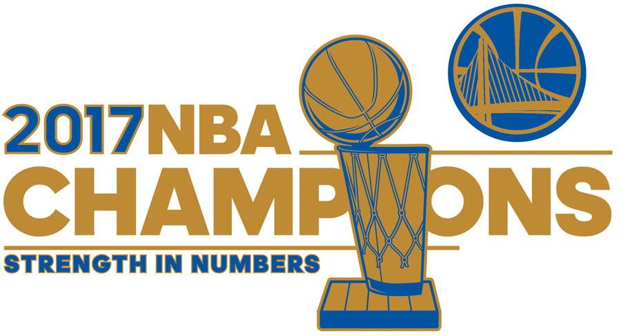 Golden State Warriors Logo Champion Logo (2016/17) - Golden State Warriors 2017 NBA Champions logo SportsLogos.Net
