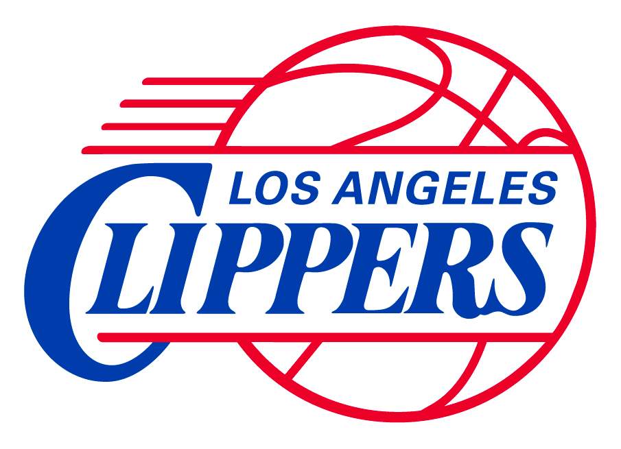 Los Angeles Clippers Logo Primary Logo (2010/11-2014/15) - Clippers logo with updated script and corrected lines on the basketball SportsLogos.Net