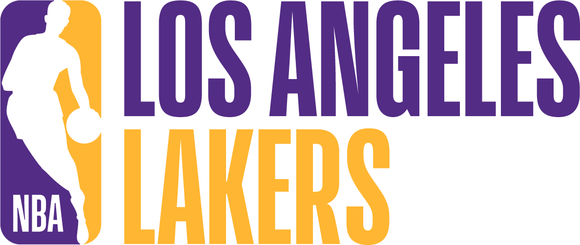 Los Angeles Lakers Logo Misc Logo (2017/18) - Note: This is not a legitimate team logo, it was originally created by this site for an April Fool's Day joke using the NBA's standardized logo system in 2018 SportsLogos.Net