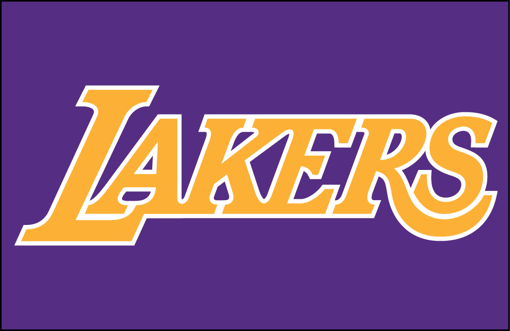 los angeles lakers jersey logo national basketball association rh sportslogos net