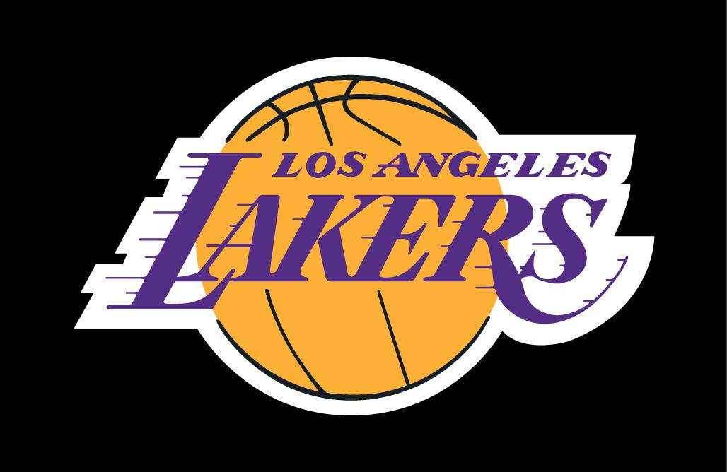Los Angeles Lakers Primary Dark Logo - National Basketball ...