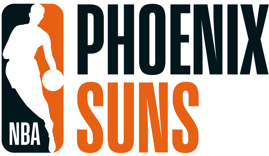 Phoenix Suns Logo Misc Logo (2017/18) - Note: This is not a legitimate team logo, it was originally created by this site for an April Fool's Day joke using the NBA's standardized logo system in 2018 SportsLogos.Net