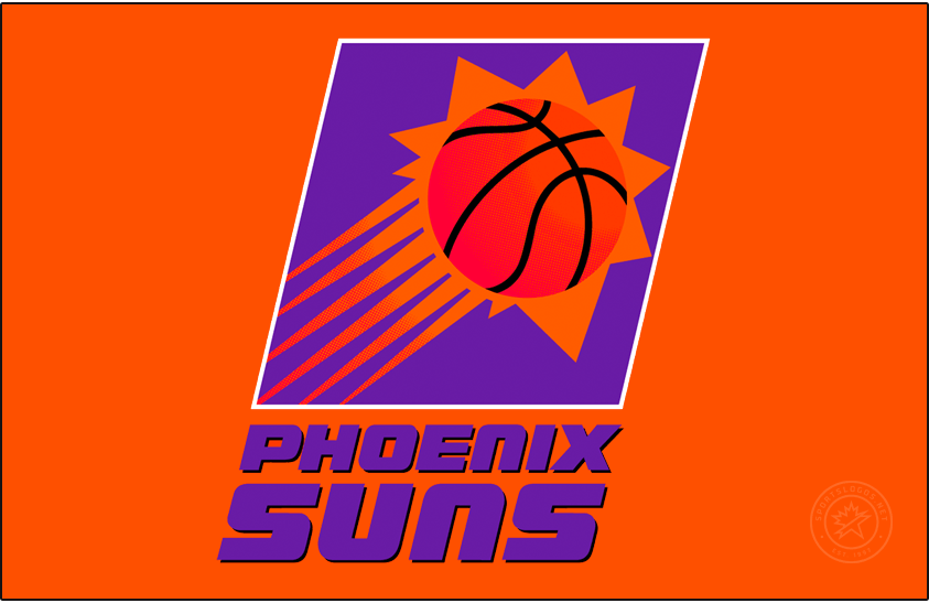 Phoenix Suns Logo Primary Dark Logo (1992/93-1999/00) -  SportsLogos.Net