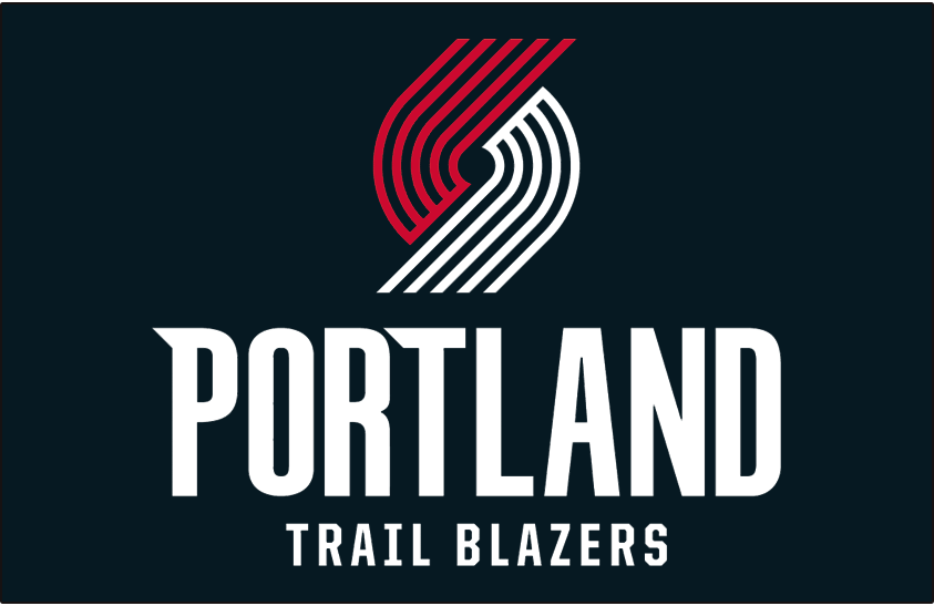 Portland Trail Blazers Logo Primary Dark Logo (2017/18-Pres) -  SportsLogos.Net