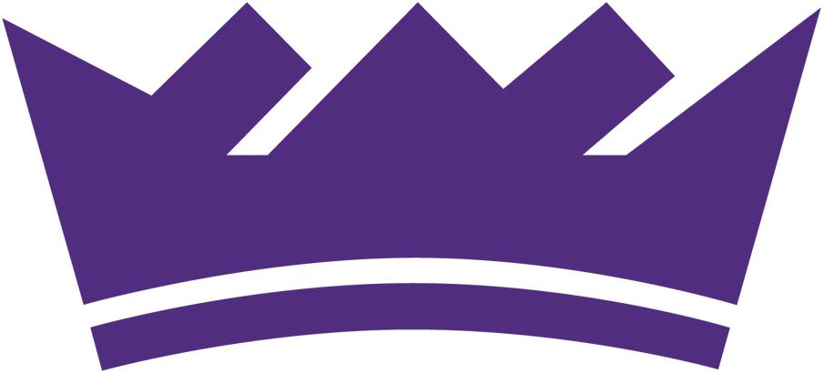 Sacramento Kings Logo Alternate Logo (2016/17-Pres) - A purple crown SportsLogos.Net