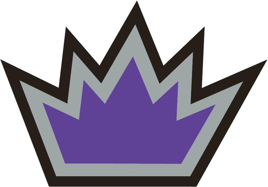Sacramento Kings Logo Alternate Logo (2005/06-2013/14) - Purple crown with silver and black outlines SportsLogos.Net