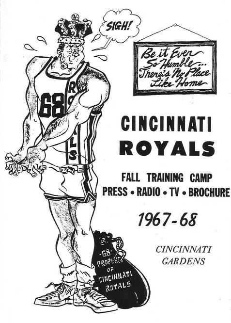 Cincinnati Royals Media Guide Media Guide (1967/68) -  SportsLogos.Net