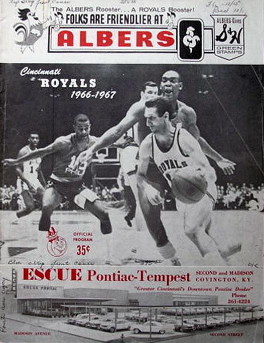 Cincinnati Royals Program Program (1966/67) -  SportsLogos.Net