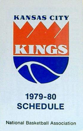 Kansas City Kings Pocket Schedule Pocket Schedule (1979/80) -  SportsLogos.Net