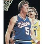 Kansas City Kings (1983) Mark Olderberg wearing the KC Kings road uniform during the 1982-83 season