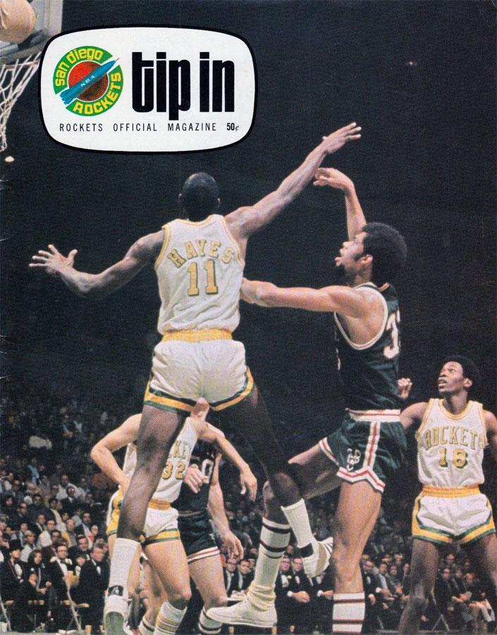 San Diego Rockets Program Program (1970/71) - San Diego Rockets Program SportsLogos.Net