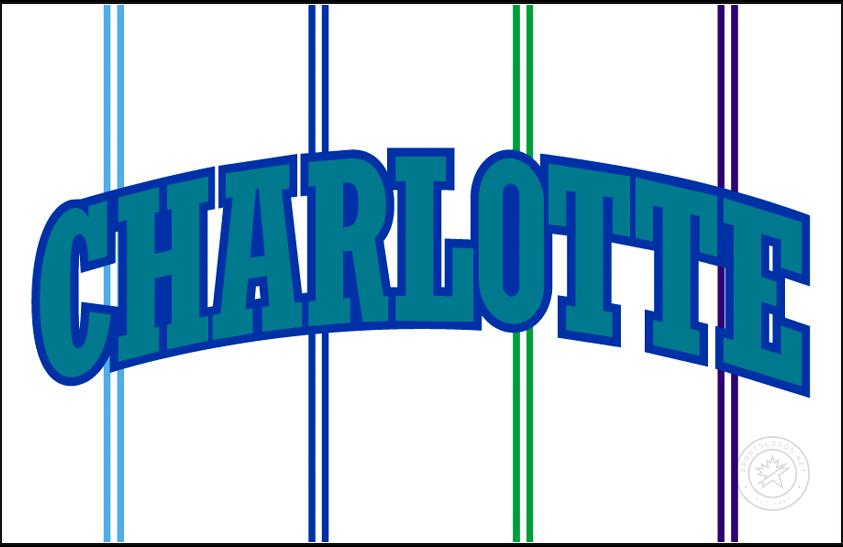 Charlotte Hornets Logo Jersey Logo (1996/97-2001/02) -  SportsLogos.Net