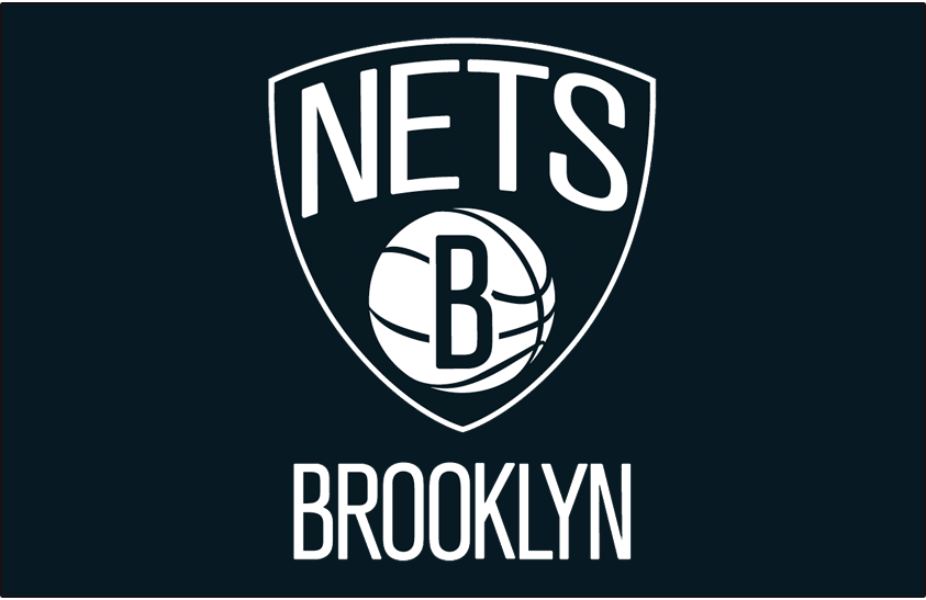 Brooklyn Nets Logo Primary Dark Logo (2012/13-Pres) -  SportsLogos.Net