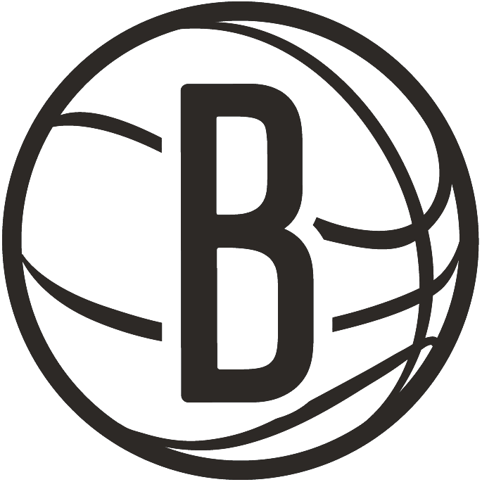 Brooklyn Nets Logo Alternate Logo (2012/13-Pres) -  SportsLogos.Net