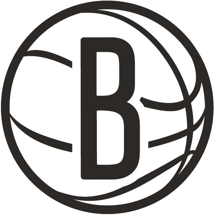 Basketball Net Logo Brooklyn Nets A...
