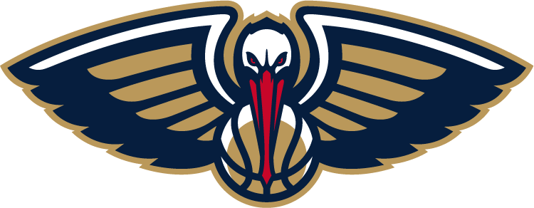 New Orleans Pelicans Partial Logo National Basketball