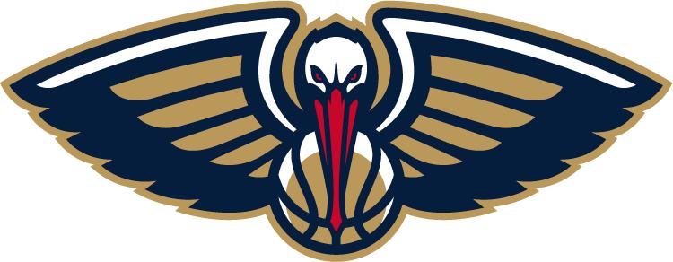 New Orleans Pelicans Logo Partial Logo (2013/14-Pres) -  SportsLogos.Net